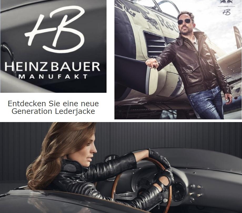 HEINZ BAUER MANUFAKT: Entdecken Sie eine neue Generation Lederjacke.