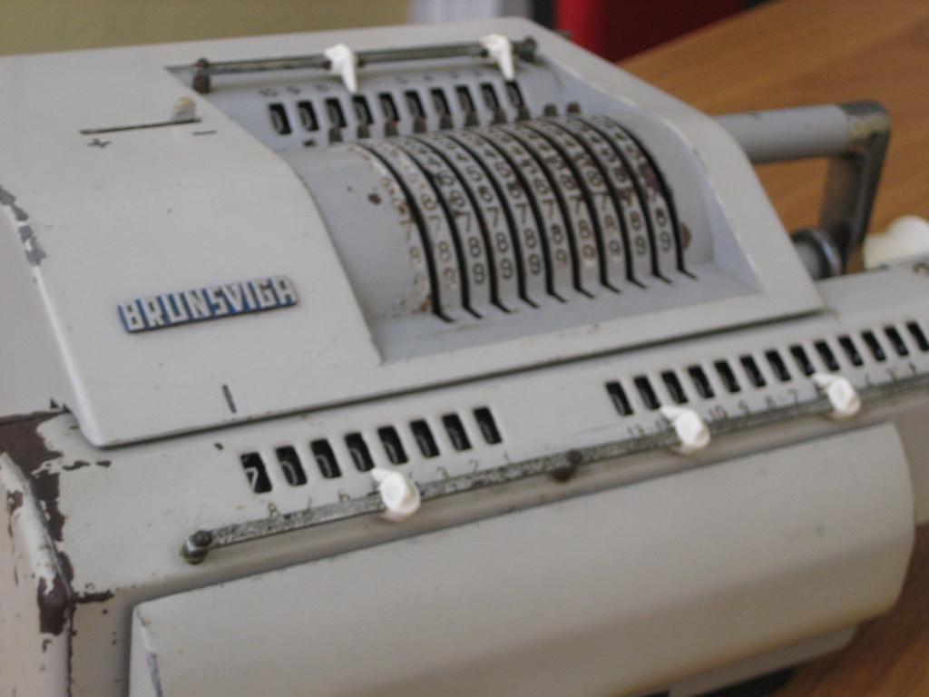 Brunsviga 13RM - Anno: 1963