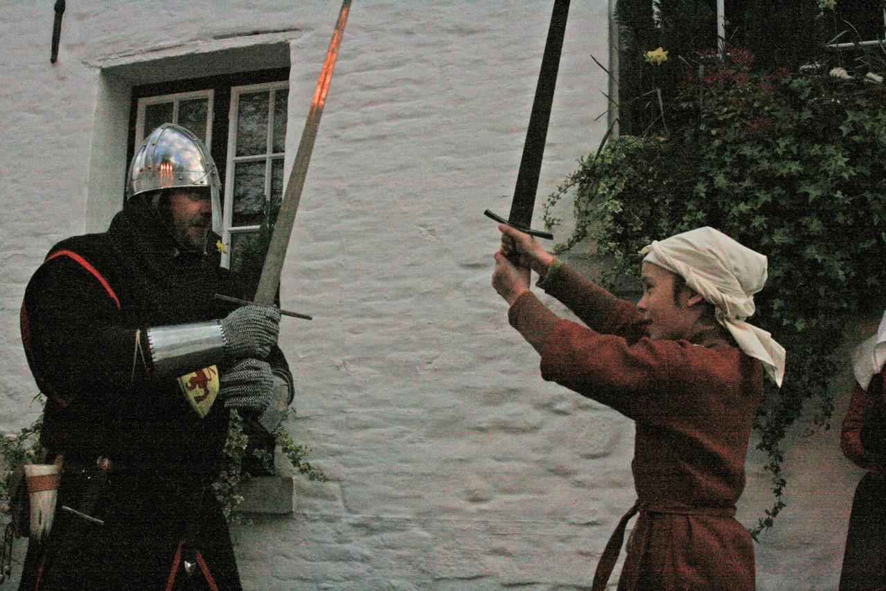 Eva apprendra le maniement de l'épée