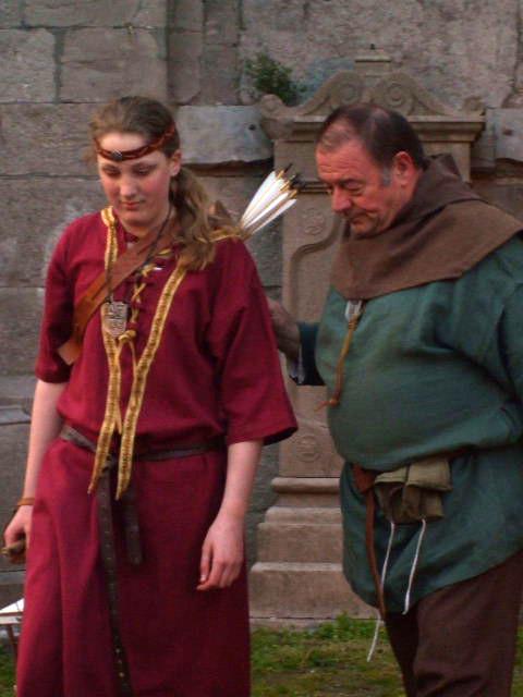 Eva apprendra le tir à l'arc sous les conseils des meilleurs Maîtres