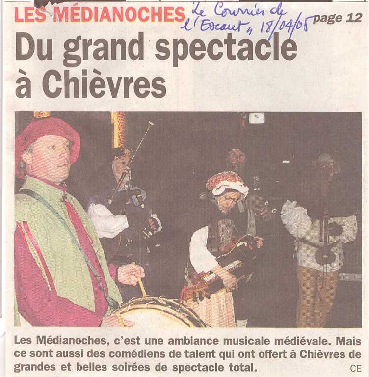 Les Médianoches avril 2005