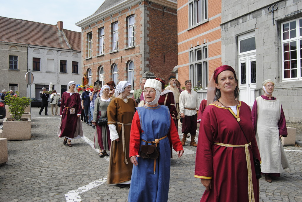 CHIEVRES Procession du pèlerin 5 juin