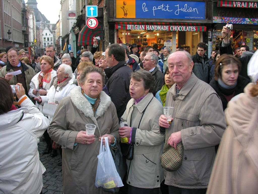 Ils ne se doutent pas qu'on les oubliera à Bruxelles.