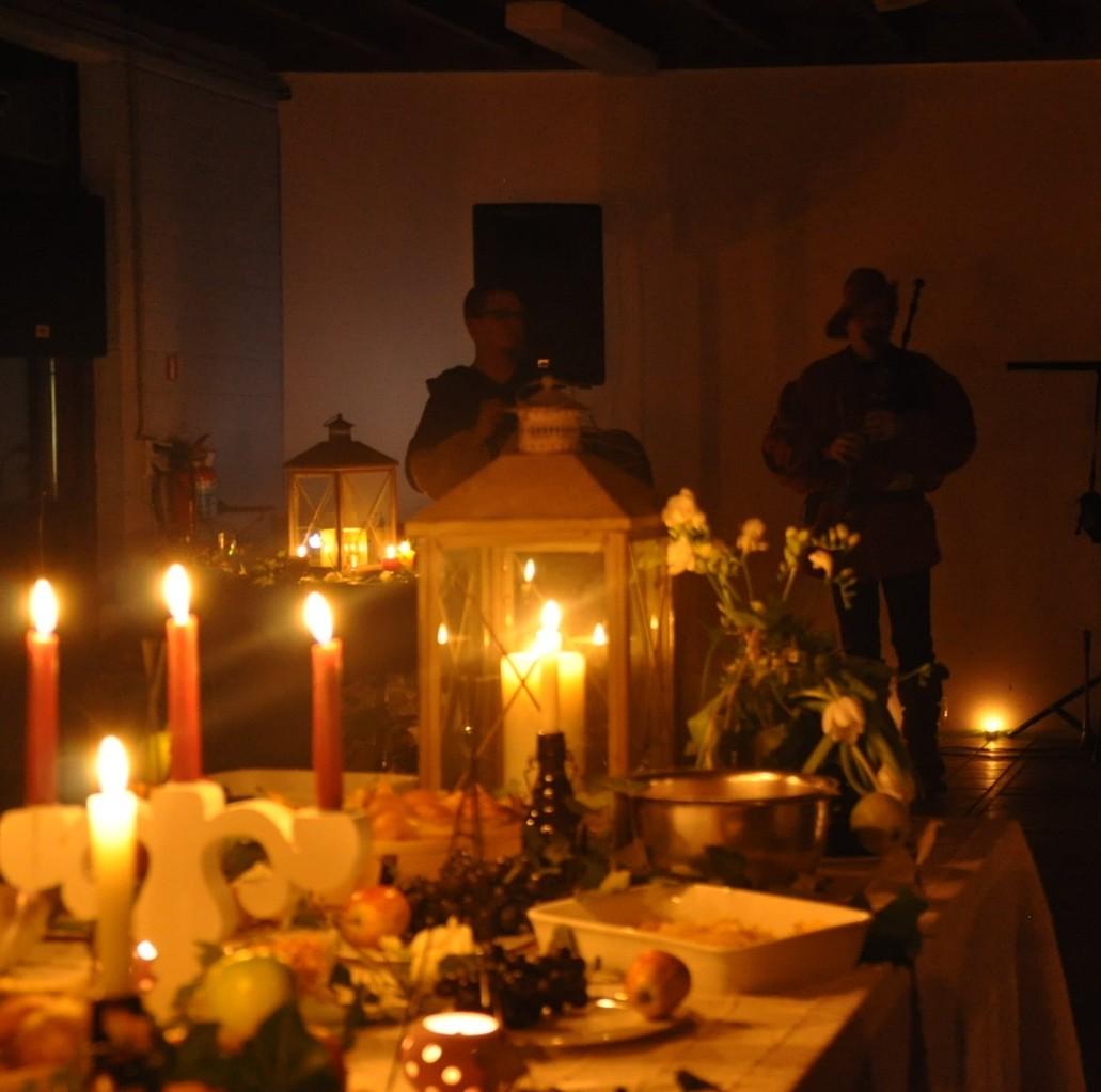 des bougies partout