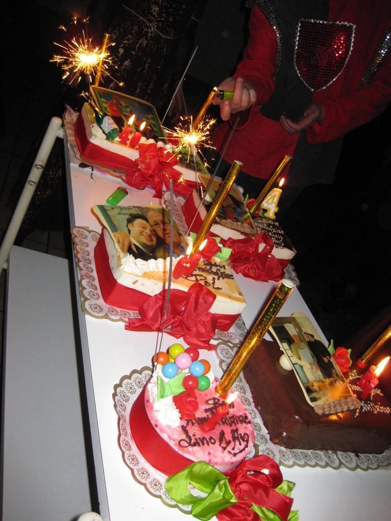 Les savoureux gâteaux