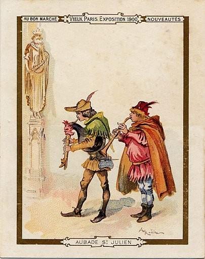 Cornemuses et Saint-julien