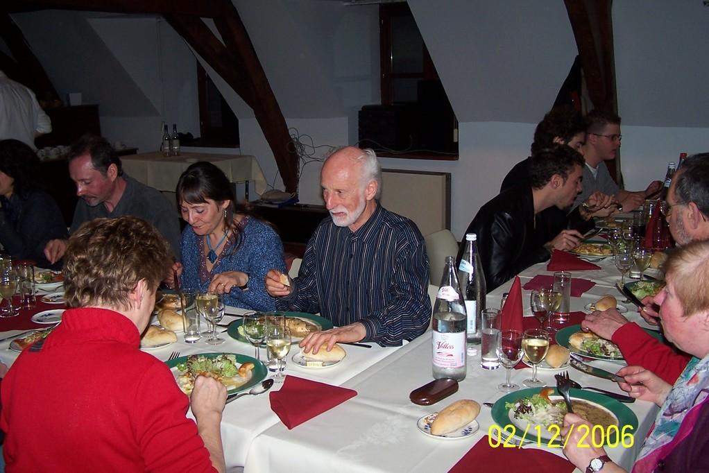 MOULIN de la HUNELLE Banquet de fin d'année