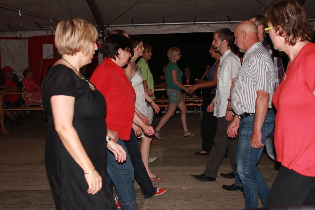 Valentin à la maîtrise de la danse