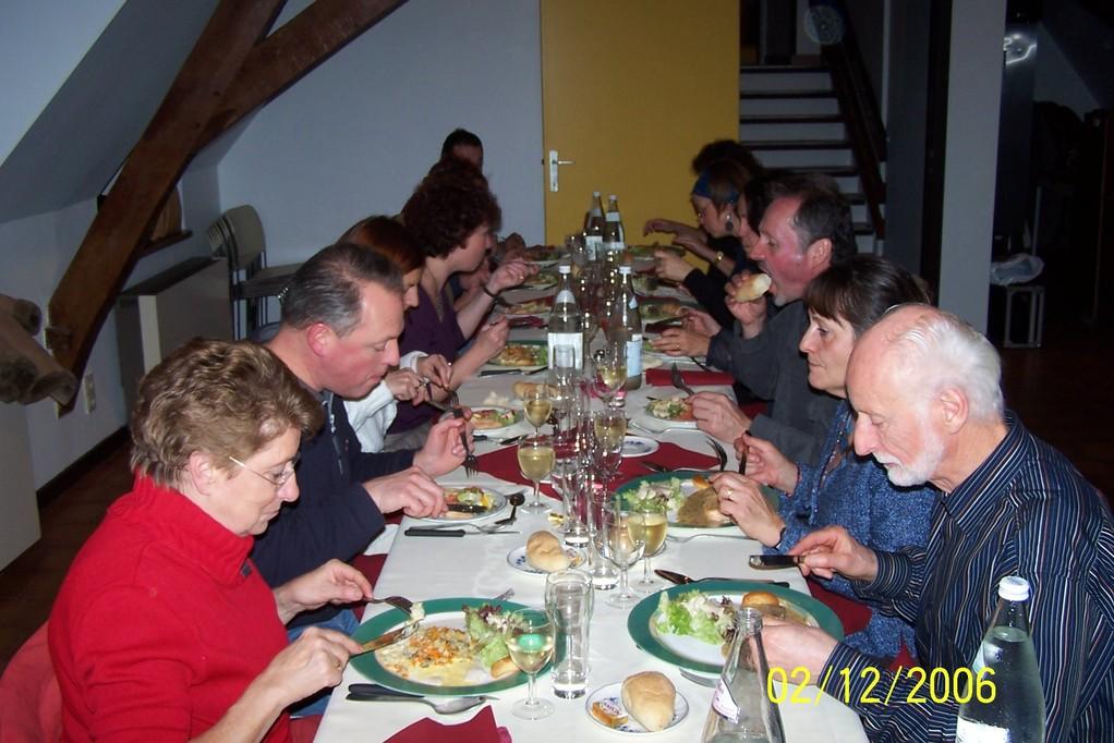 Banquet de fin d'année