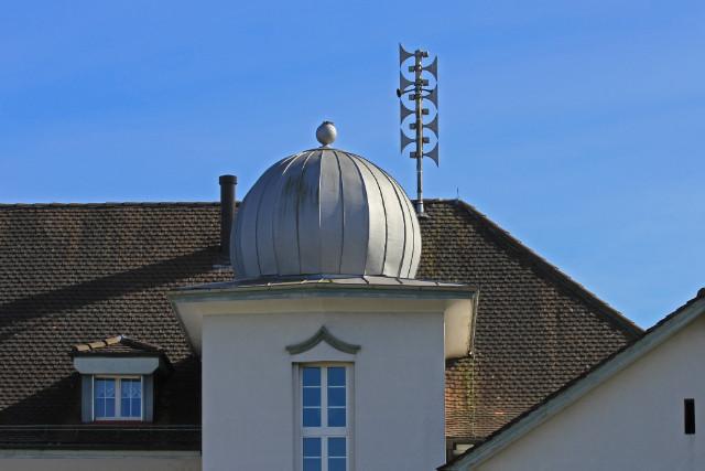 Kleinfeldschulhaus Nordseite Detail