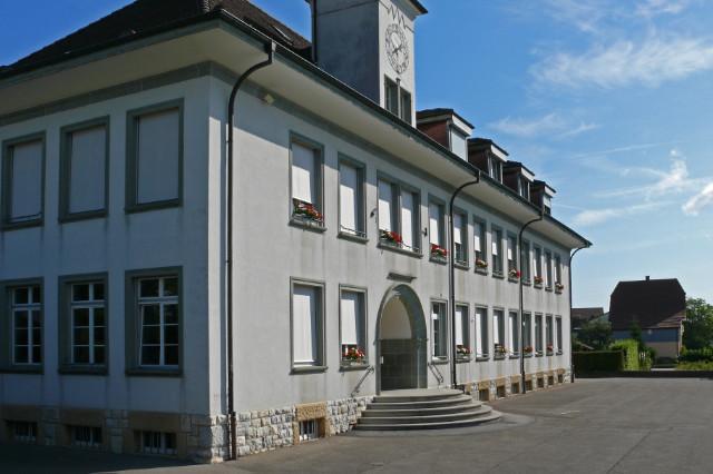 Kleinfeldschulhaus aus Südwesten