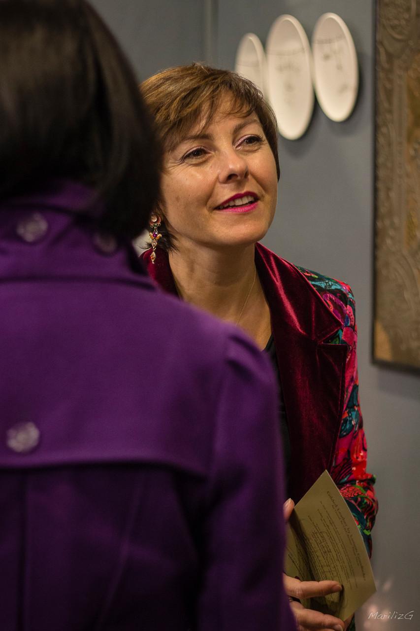 Carole Delga, Secrétaire d'Etat chargée du Commerce, de l'Artisanat, de la Consommation et de l'Economie sociale et solidaire, auprès du ministre de l'Economie, de l'Industrie et du Numérique