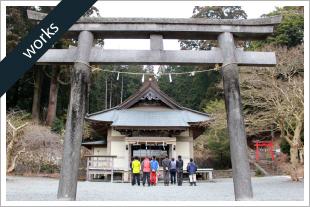 寺社・お屋敷の老朽危険木をウッドタワー工法で特殊伐採