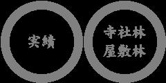 特殊伐採の実績|寺社林・屋敷林