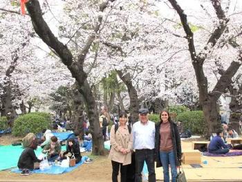 オックスフォード大学Cさんと有田教授と私(感涙療法士)