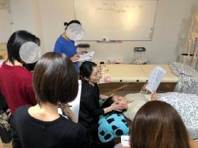 名古屋 ヘッドマッサージ資格講座