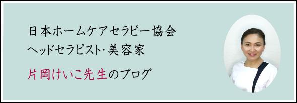 日本ホームケアセラピー協会 ヘッドセラピスト片岡先生