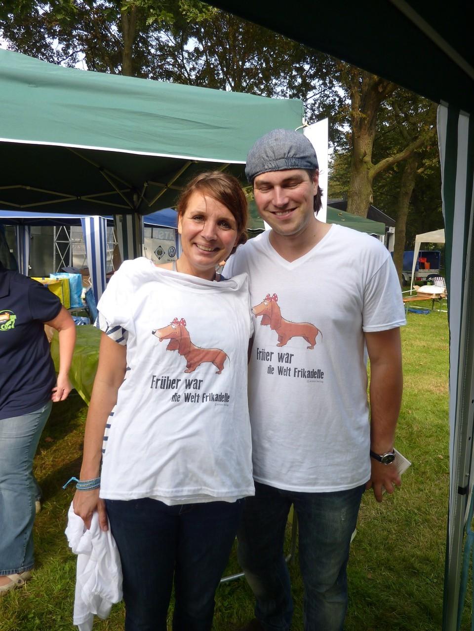 DogWalk 2014  - Simone und Artem - Foto Oetken