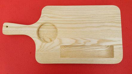 Frühstücksbrett,  gefertigt in der Holzwerkstatt von ASH-Sprungbrett e.V.