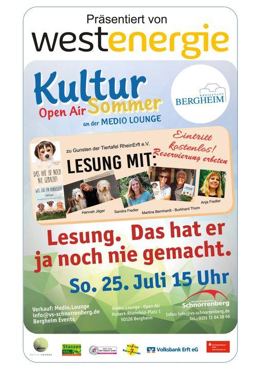 Kultur Sommer in Bergheim  open air