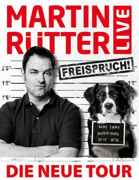 Toerplakat Martin Rütter Freispruch