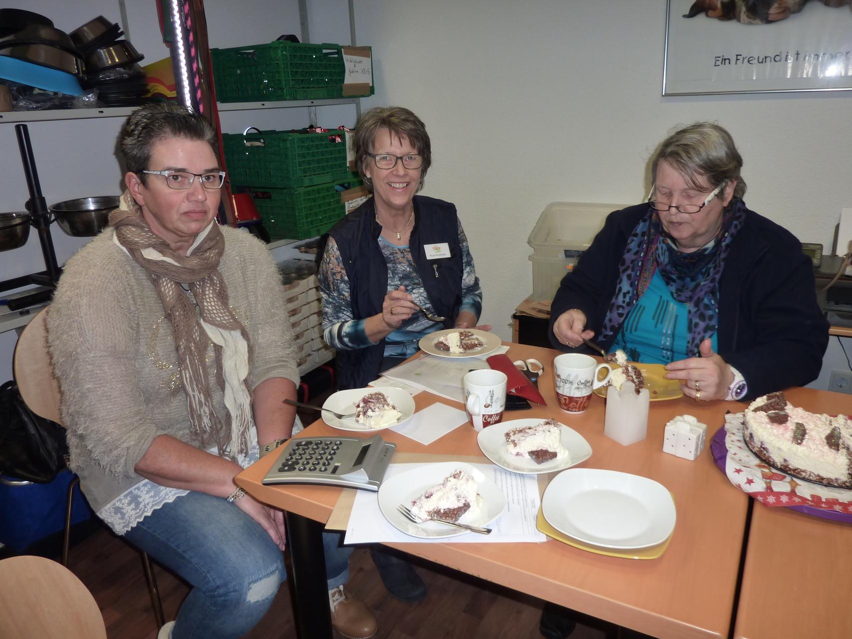 Hilde, Birgit und Helga schmeckt es