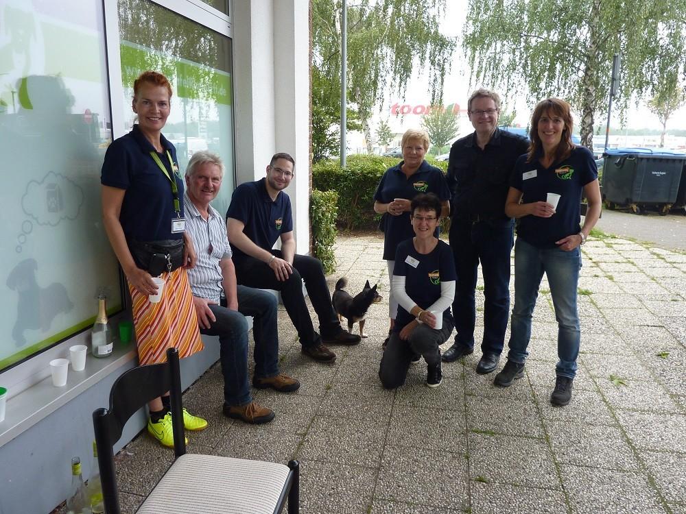 DogWalk 2014  -  langsam den tollen Tag ausklingen lassen - Foto Oetken