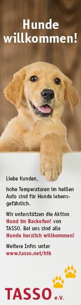 """Tasso Aufklärungskampagne """"Hund im Backofen"""""""
