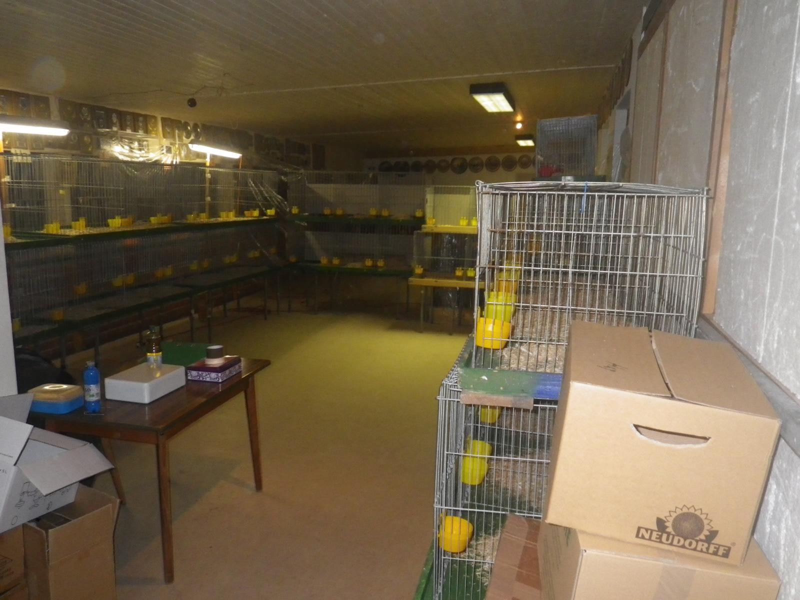 Auch hier ist alles für die Ankunft der Tiere vorbereitet.