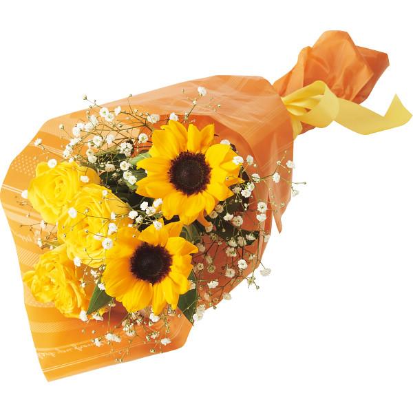 父の日 バラとひまわりの花束