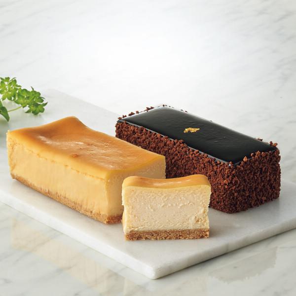 -極-濃厚ベイクドチーズケーキ&-艶-至福のショコラノワール