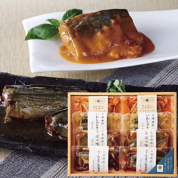 阿部長商店 和風&洋風煮魚セット (AB-62)