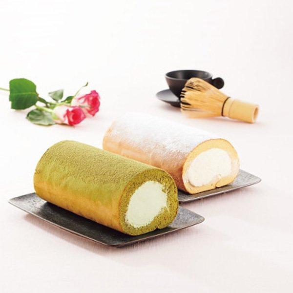 ザ・スウィーツ×堂島ロール ロールケーキセット(キャラメル・抹茶)