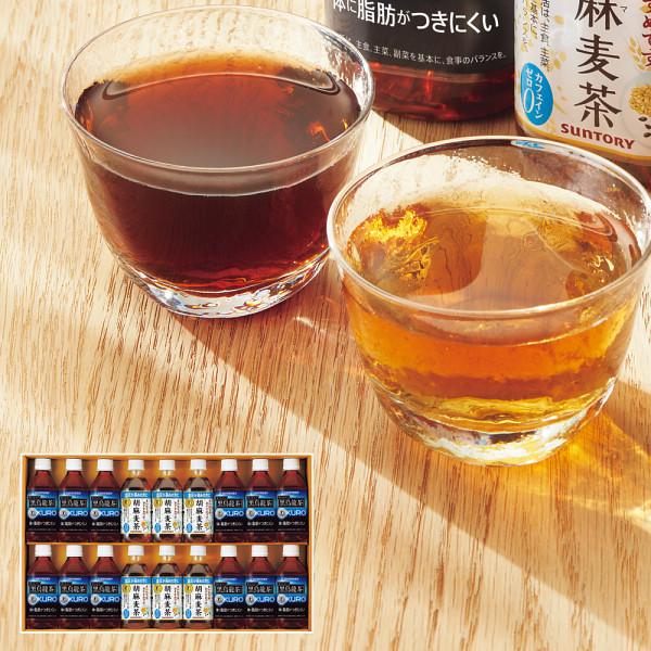 サントリー 黒烏龍茶・胡麻麦茶ギフト(18本)(特定保健用食品) (FJK3F)