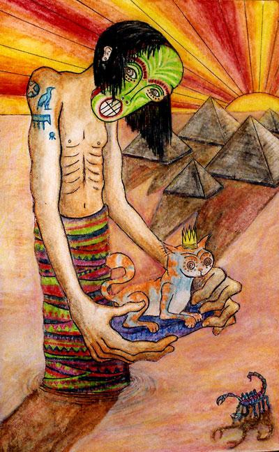Egyptain Man, 2007