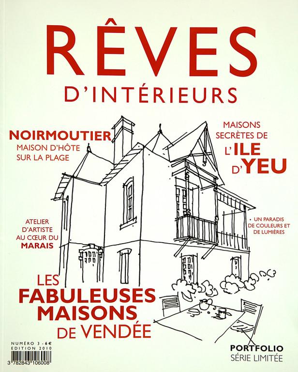 ©  RÊVES D'INTERIEURS, 1ère de couverture