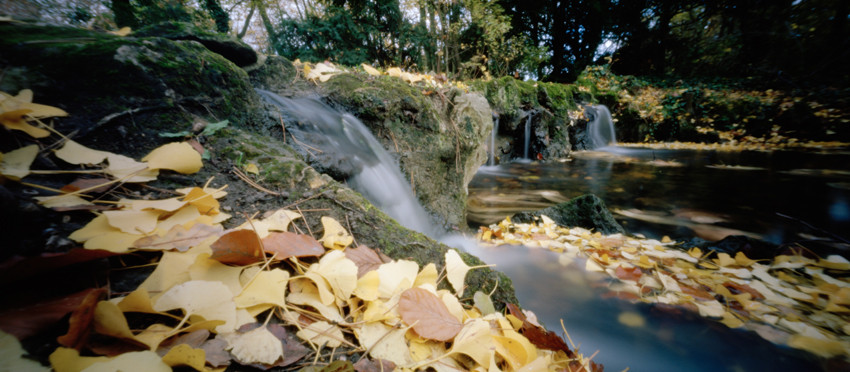 Cascatelles, 2009, Parc de Boulogne-Billancourt, Edmond-de-Rothschild, 88 × 47 cm, 1/30