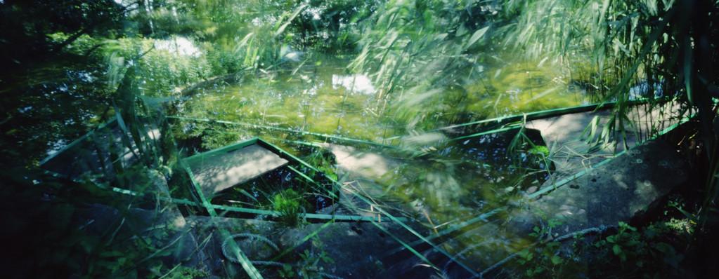 Ile Verte, Près de l'étang, 2010, L98 cm x H47 cm, 1/30, © Annick Maroussy