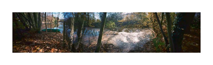 Paisible Automne, 2009, Parc de Boulogne-Billancourt, Edmond-de-Rothschild, L120 × H37 cm, 1/30.