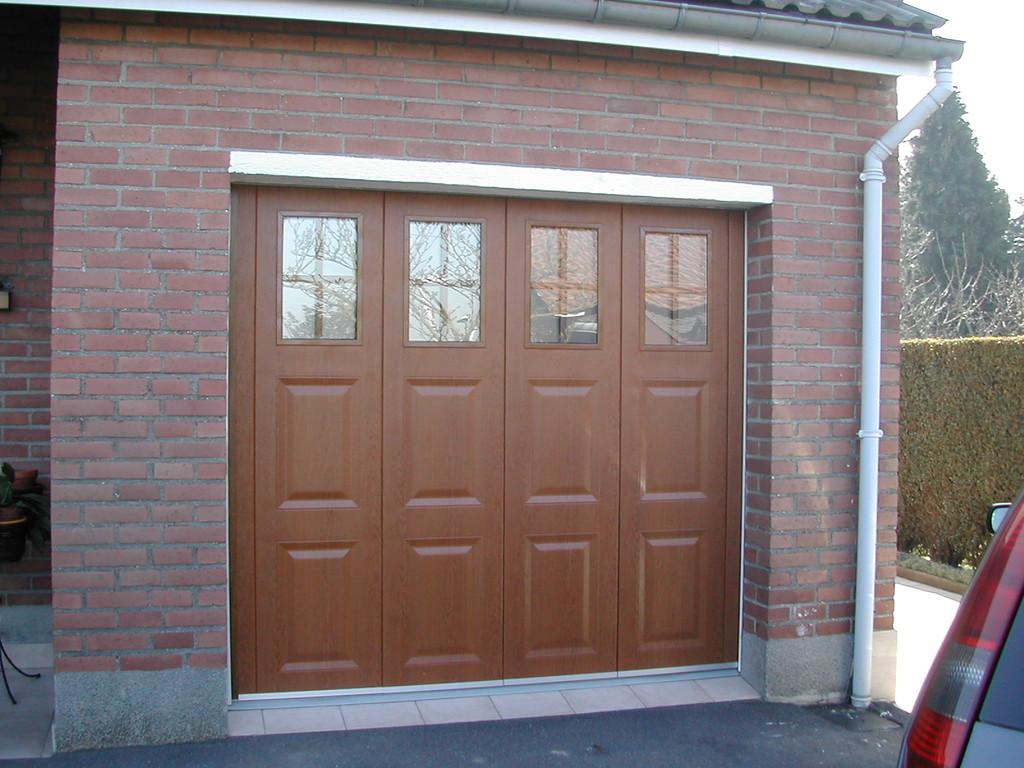 Les portes de garage for Difference porte de garage debordante et non debordante