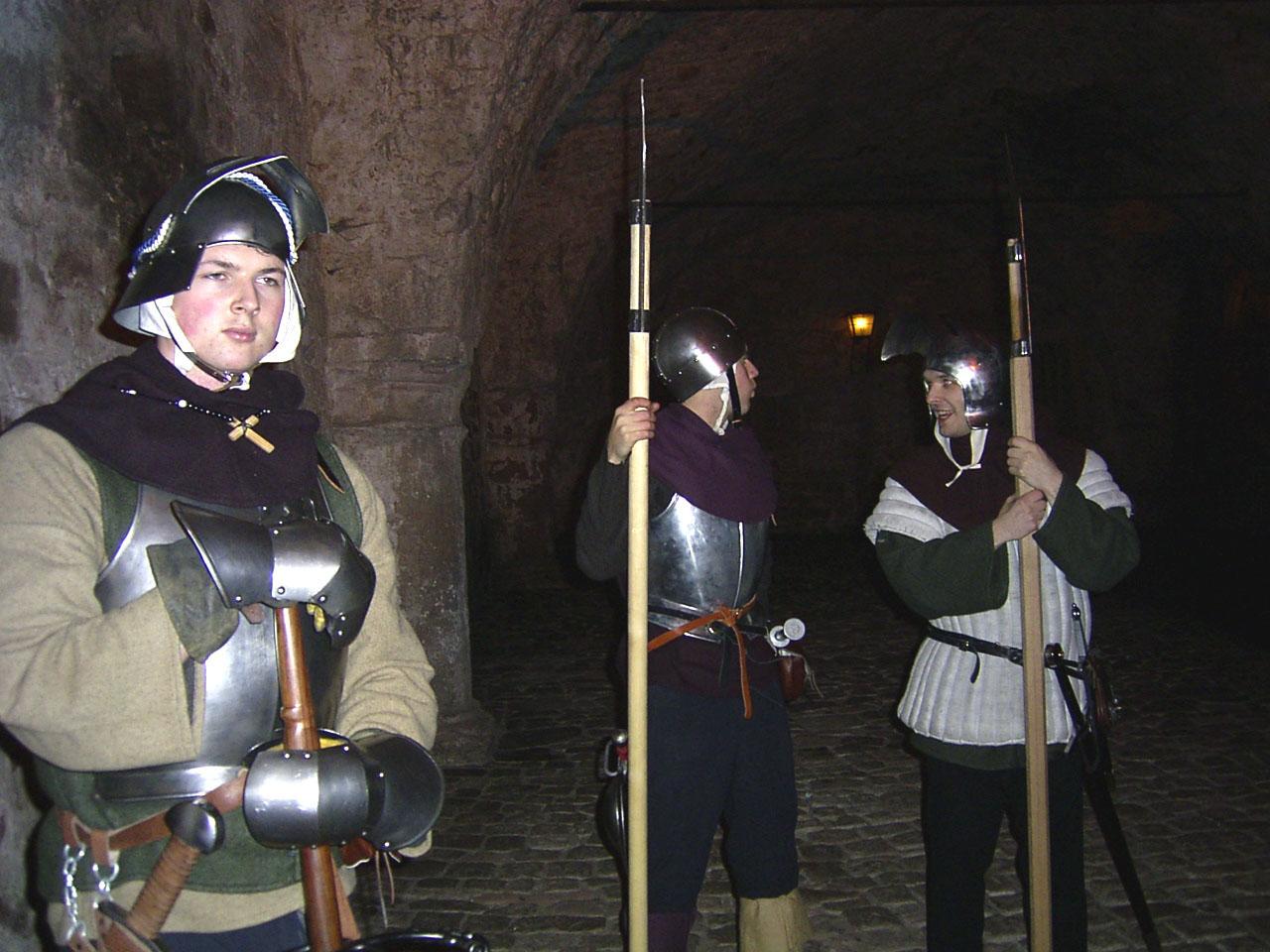 Heidelberger Schloss, Führung Ritter