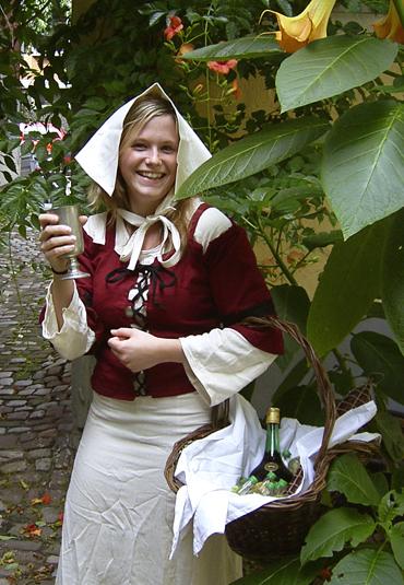Historische Hochzeitsfeier in Heidelberg