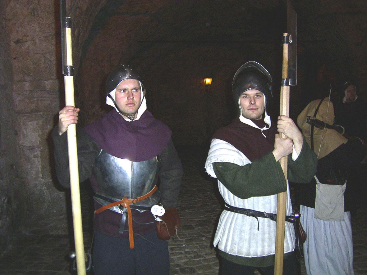 Schloss Heidelberg, die Nachtwächterführung