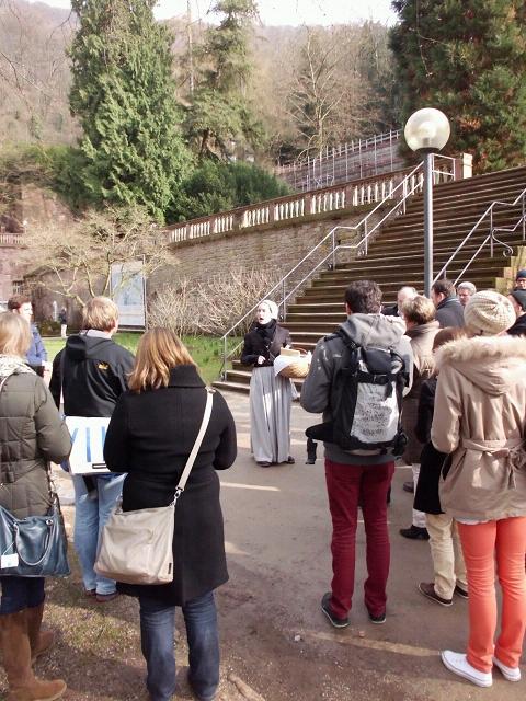 Führung Medizingeschte Heidelberg, die Kräuterfrau
