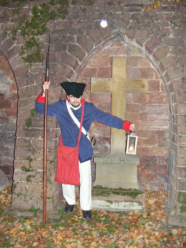 Mit dem Nachtwächter unterwegs in der Altstadt von Heidelberg