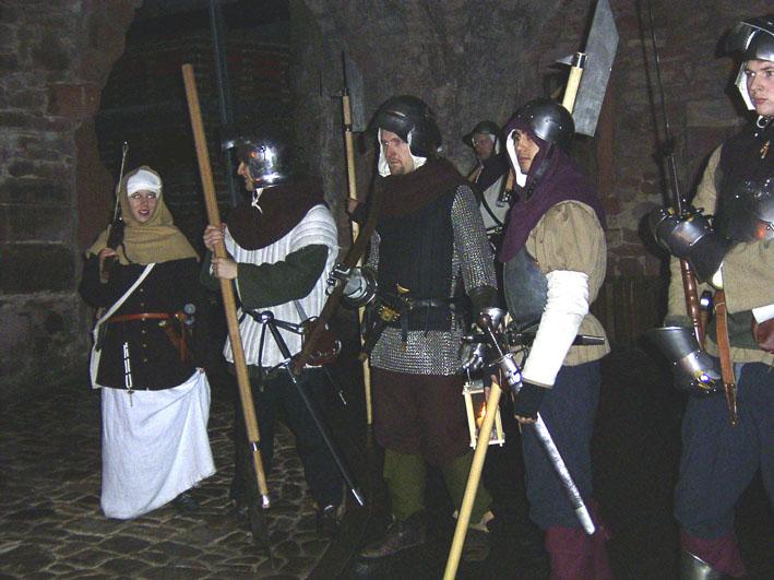 Schlossführung Heidelberg, die Schlosswache
