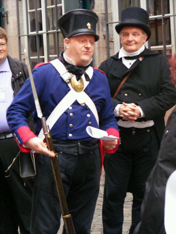 Stadtrundgang Heidelberg, die Nachtwächter