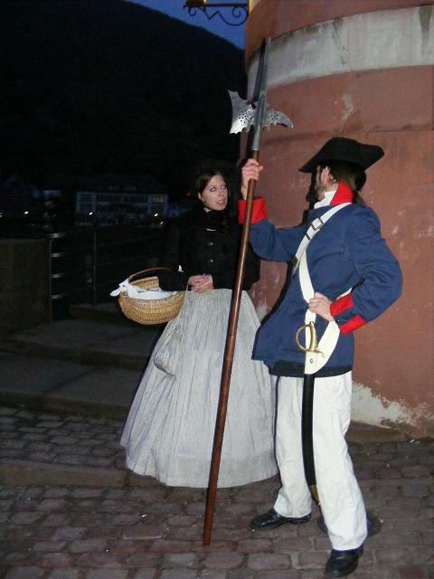 Stadtrundgang Heidelberg Nachtwächter und Henkerstochter