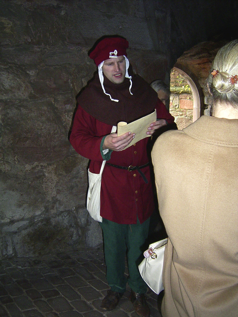 Heidelberg im Mittelalter, der Rufian