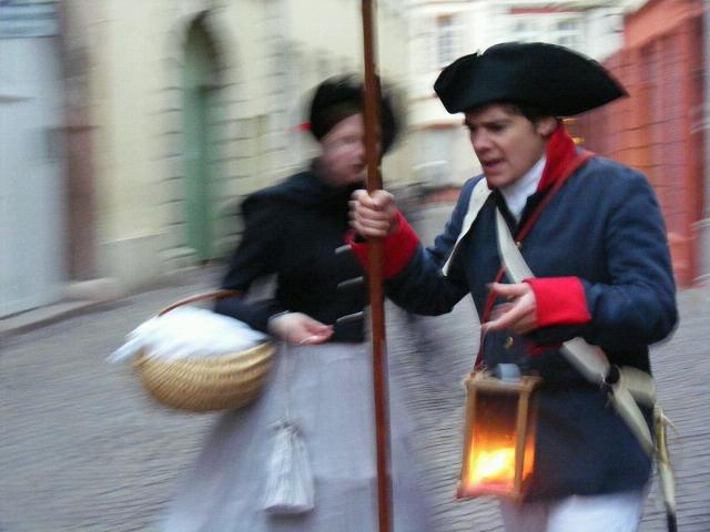 Stadführung Heidelberg Nachtwächter und Henkerstochter
